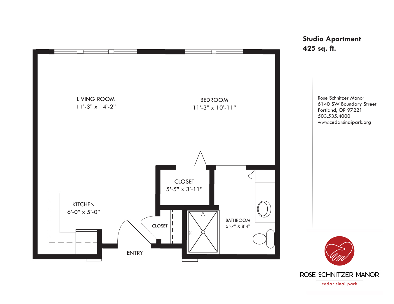 Studio Apartment Floor Plans 480 Sq Ft