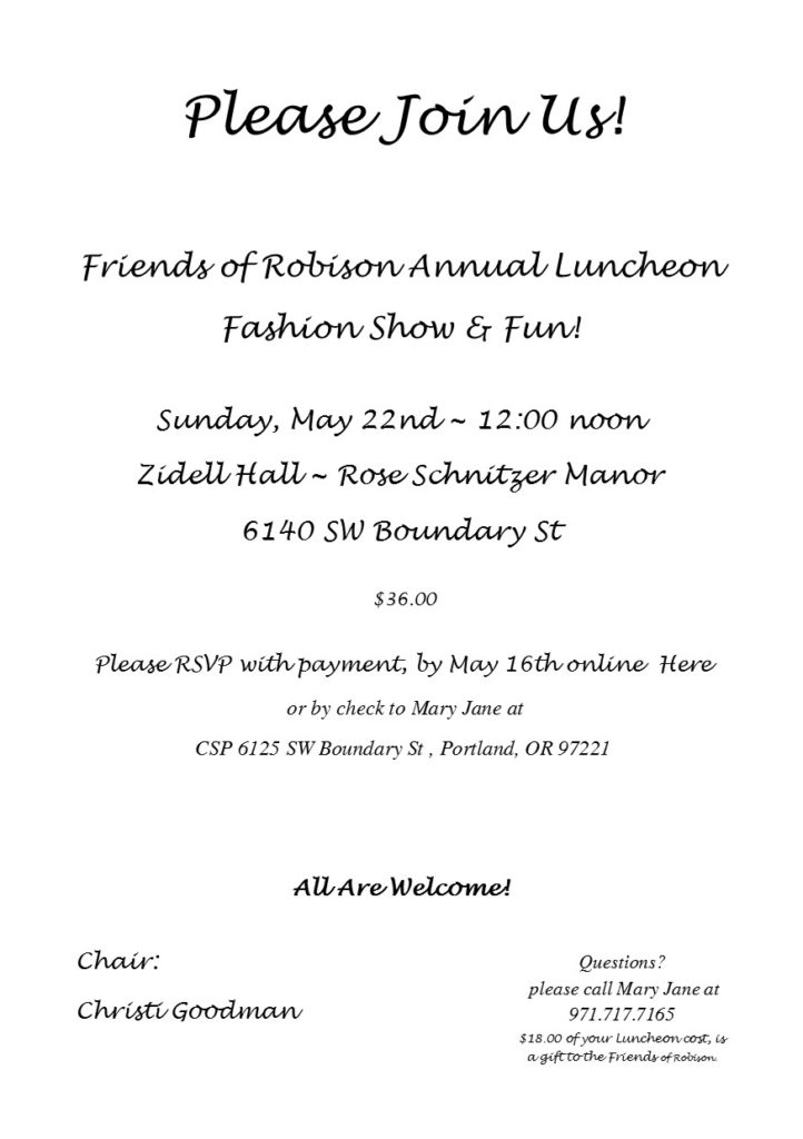 Friends of Robison
