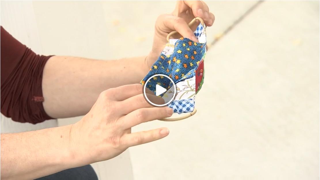 Sew to Save donates 900+ handmade masks to CSP!