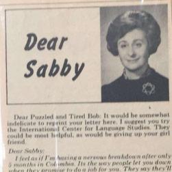 Sabina Shalom